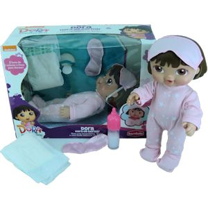 Boneca Dora Hora de Dormir
