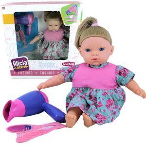 Boneca Alicia Fashion C/ Acessórios