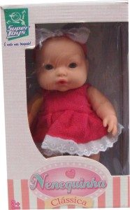 Boneca Nenequinha Branca