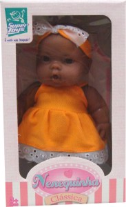 Boneca Nenquinha Negra