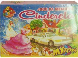 70001 – Jogo da Memória Cinderela 15,5x12x3cm 10por10