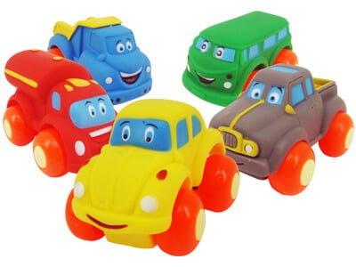 Carrinho Coleção Soft Cars