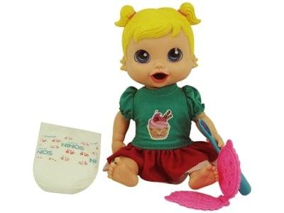 Boneca Baby's Collection Comidinha