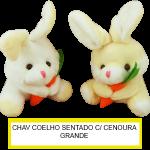 Chaveiro Coelho c/ Cenoura Grande