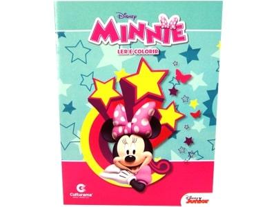 Livro Médio Ler e Colorir Minnie