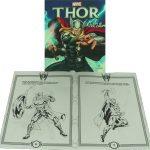 Livro Médio Ler e Colorir Thor