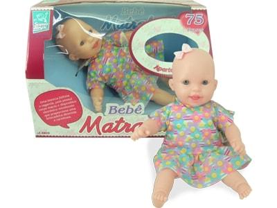Boneca Bebê Matrakinha 75 frases