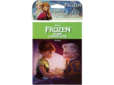 Mini Livro Frozen