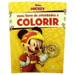 Meu Livro de Atividades e Colorir Mickey Sobre Rodas