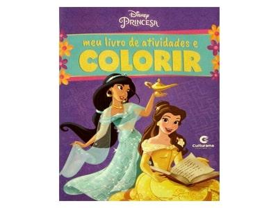 Meu Livro de Atividades e Colorir Princesas