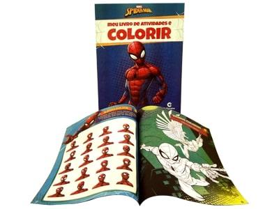 Meu Livro de Atividades e Colorir Spider Man