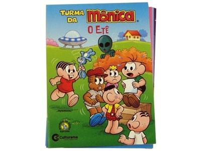 Mini Livro Turma da Mônica