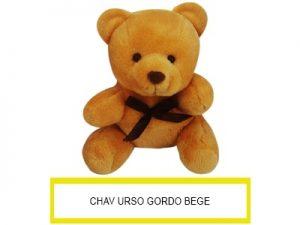 Chaveiro Urso Gordo Peq