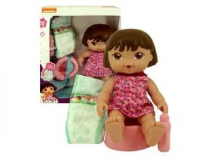 Boneca Dora Faz Xixi