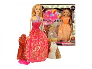 Boneca Júlia Pink c/ Acessórios