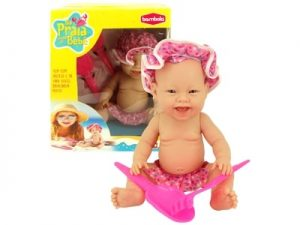 Boneca Na Praia com o Bebê