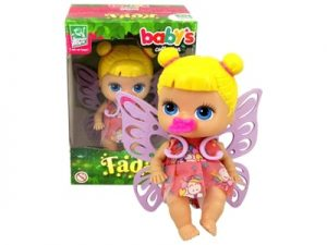 Boneca Baby's Collection Mini Fada