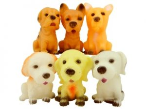 Cachorros de Vinil Pct c/6