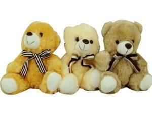 62607- Urso fofo com laço