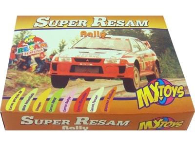 65506 – Jogo de Card Super Resan Rally 15,5x12x3cm 08por10
