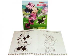 Livro Ler e Colorir Disney