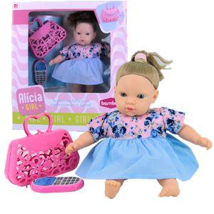 Boneca Alicia Girl c/ Acessórios