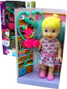 Boneca My Little Collection Doutora