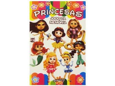 39722 – Jogo da Memória Princesas