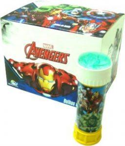 Bolha de Sabão Avengers