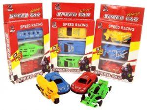 07609 – Kit carros c/3 13,5x8x2cm 4por10