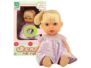 Boneca Jenny c/ Cabelo Fala Inglês