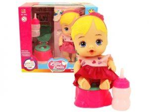 Boneca Little Dolls Faz Xixi