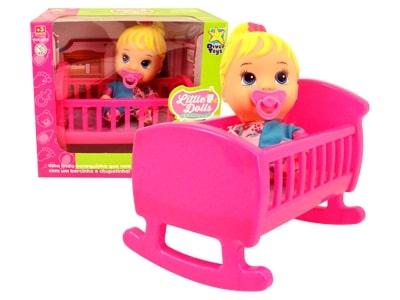Boneca My Little Dolls Bercinho