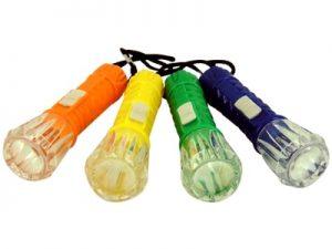 21444 – Chaveiro Lanterna LED 22x25x2cm pct c/ 12por20