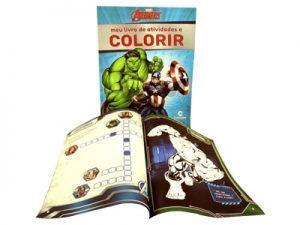 Meu Livro de Atividades e Colorir Vingadores