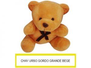 Chaveiro Urso Gordo Grande