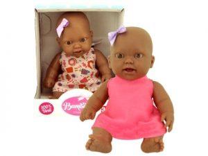 Boneca Bambolete Negra Na Caixinha