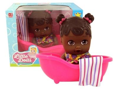 Boneca Little Banheirinha Negra
