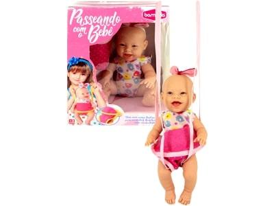 Boneca Passeando com o Bebê