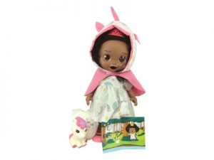Boneca Baby's Collection Contos de Fada Negra