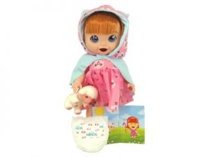 Boneca Baby's Collection Contos de Fada Ruiva