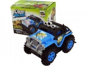 93649- Carro a Pilha Crazy Racers