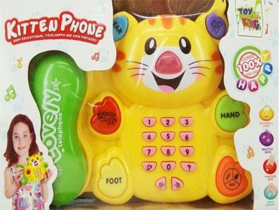 30495 – Telefone Musical A Pilha 18x29x6.5cm