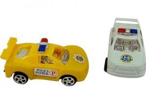 57959 – Carrinho a Fricção Police 3.5X8.5X4.5cm 6por10