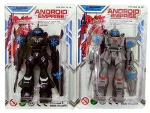 71682 – Robô Android 14.5×9.5×3.5cm 5por10