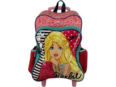 29590: Mochila com Rodas Barbie 35x25x16cm