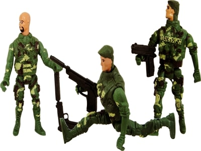 01593: Soldado 9,5×4,5x2cm.