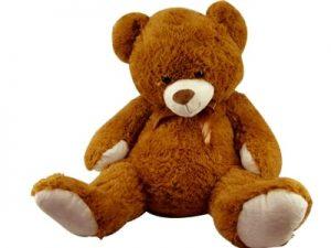 00349 – Urso Gigante Com Laço 62cm