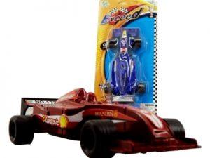 162437 Carro Formula 1 Pull Back 3 por 12