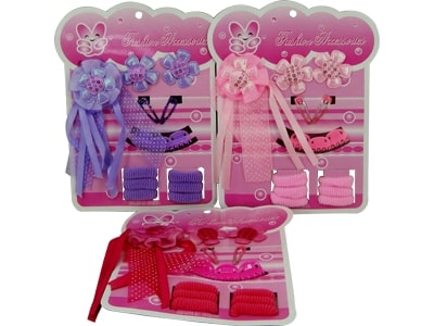 72876 Kit de Cabelo Fashion na Cartela